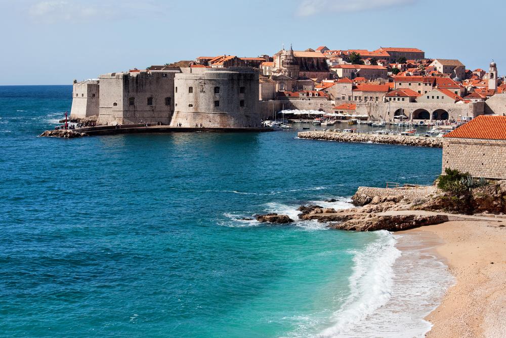 Beaches Of Dubrovnik, Croatia