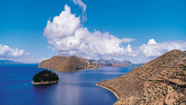 Titicaca-Bolivia And Peru