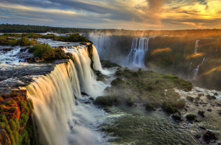 Iguazu Falls- Argentina And Brazil