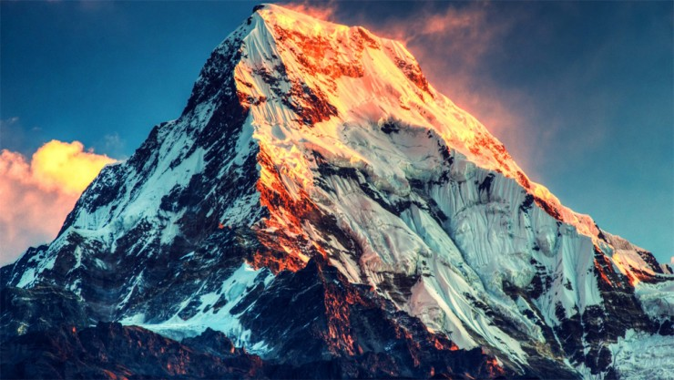 Mount Everest, The Himalayas