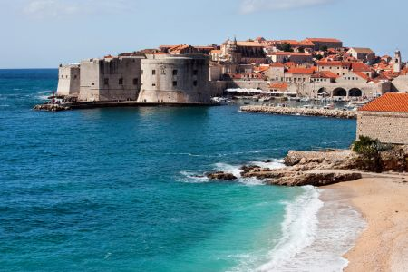 Beaches Of Dubrovnik, Croatia