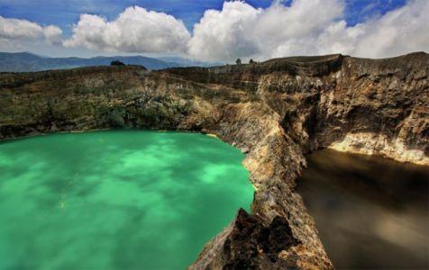 Kelimutu, Moni, Flores Island, Indonesia